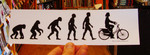 Sticker #311: Evolution Cruiser Bicycle