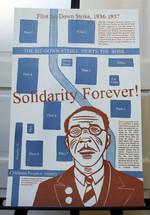 Flint Sit-Down Strike poster