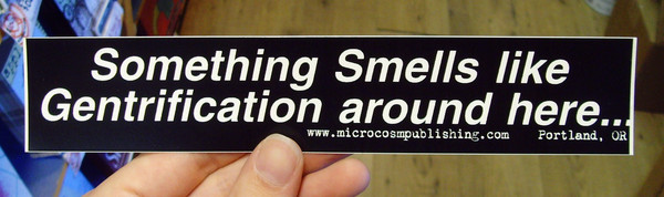Sticker #067: Something Smells Like Gentrification blowup