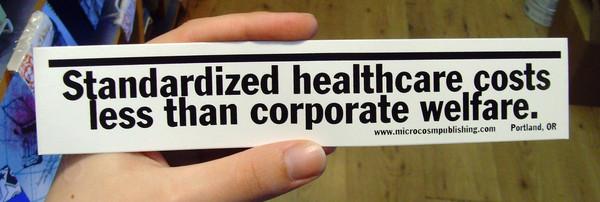 Sticker #050: Standardized Healthcare
