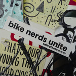Sticker #336: Bike Nerds Unite