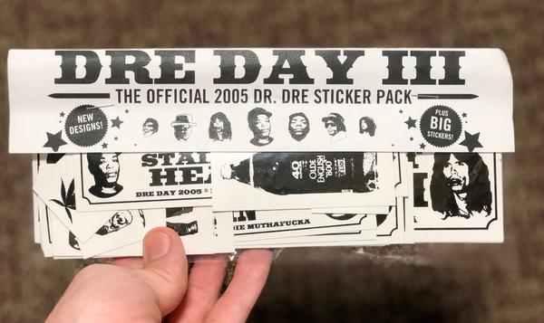 Dre Day Sticker Pack 2005