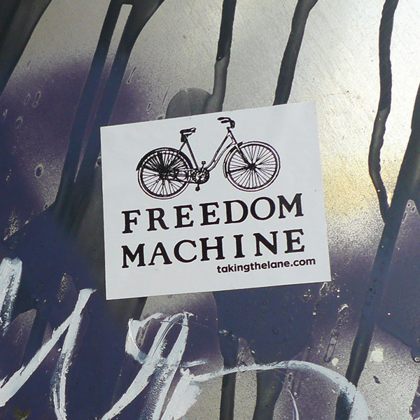 Sticker #345: Freedom Machine