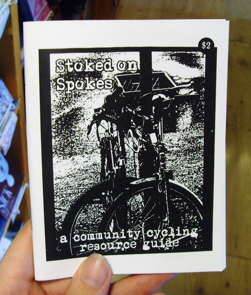 Stoked on Spokes zine cover