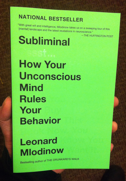 Subliminal by Leonard Mlodinow blowup