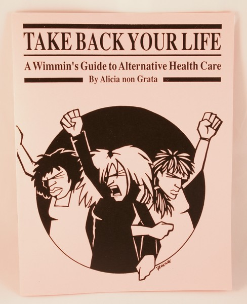 Take Back Your Life zine cover