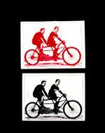 Sticker #263: Tandem Racers