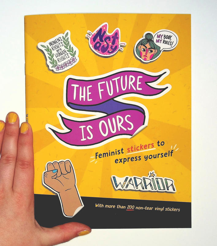 Future is Ours: Feminist Stickers to Express Yourself
