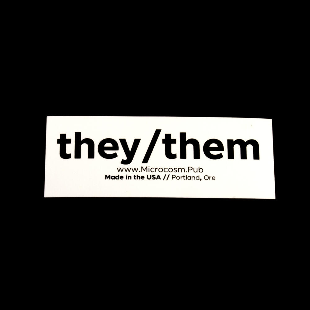 Sticker #435: They/Them