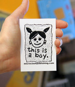Sticker #280: This Is A Boy