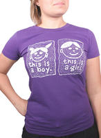 This is a Boy / This is a Girl T-shirt