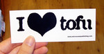 Sticker #186: I (heart) Tofu