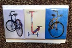 Town Bikes magnets