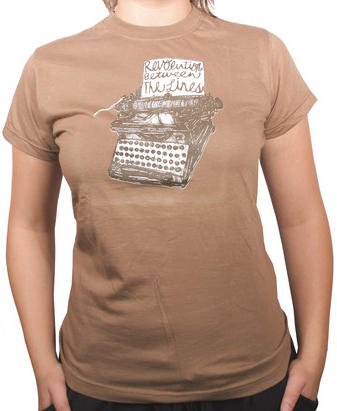 typewriter shirts