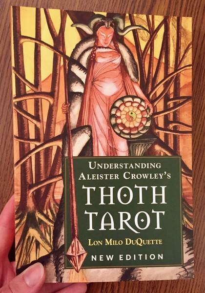 Understanding Aleister Crowley's Thoth Tarot by Lon Milo DuQuette  blowup