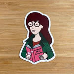 Daria Feminist Sticker