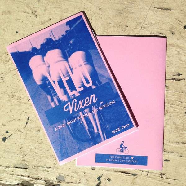 velo vixen #2 a zine about women and bicycling by rachel krause
