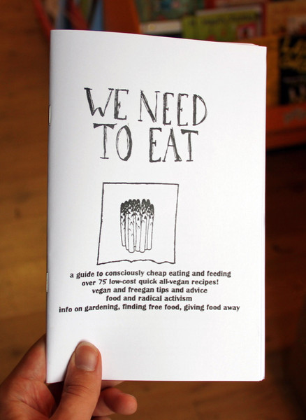 We Need To Eat! zine cover