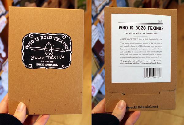 Who is Bozo Texino documentary by Bill Daniel DVD cover