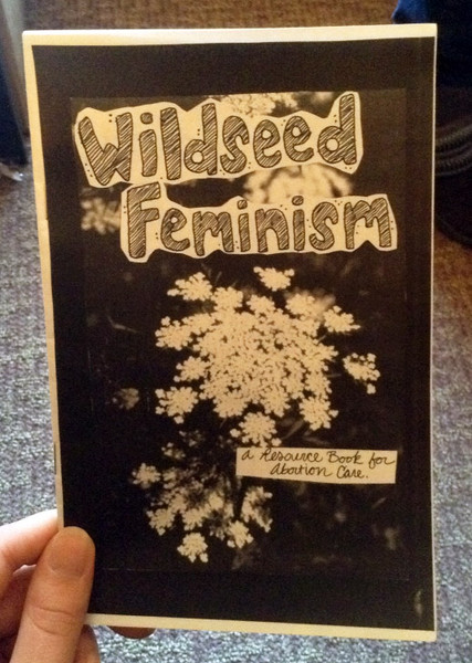 Wildseed Feminism zine cover blowup