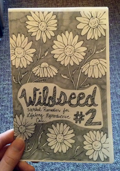 Wildseed Feminism number 2 zine cover