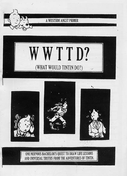 WWTTD? (What Would Tintin Do?)