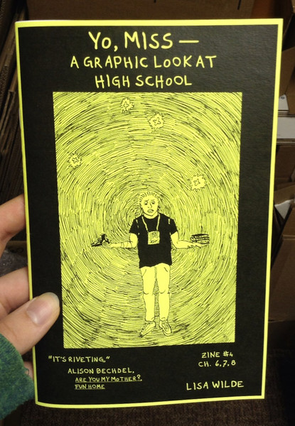 Yo, Miss #4: A Graphic Look at High School