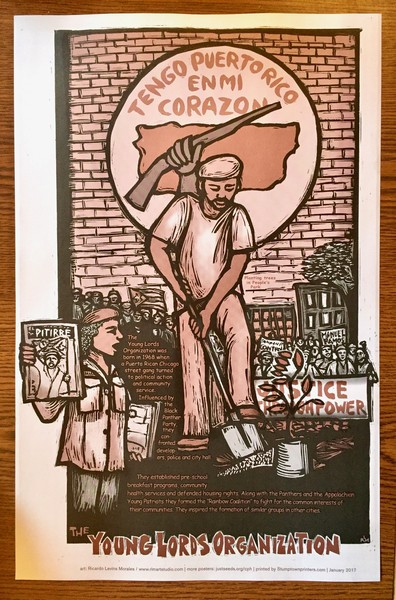 Young Lords Organization poster